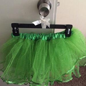 Green Sparkly tutu
